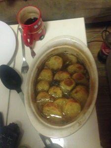 My attempt at Lancashire hotpot